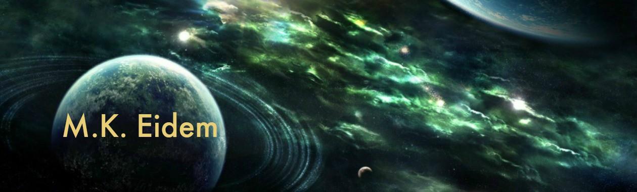 M.K. Eidem, sci-fi romance author